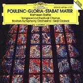 Poulenc: Gloria, Stabat Mater / Ozawa, Battle, Boston SO