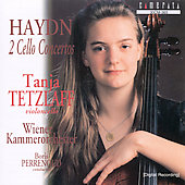 Haydn: 2 Cello Concertos / Tanja Tetzlaff, Boris Perrenoud
