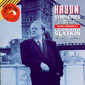 Haydn: London Symphonies Vol 2 / Slatkin, Philharmonia
