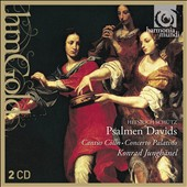 Heinrich Schutz: Plalms of David / Cantus Colln, Konrad Junghanel