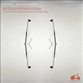 Mozart: String Quintets nos 1 - 6 / Talich Quartet