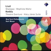 Liszt: Mazeppa; Kod&#225;ly: H&#225;ry J&#225;nos Suite / Kurt Masur, New York PO