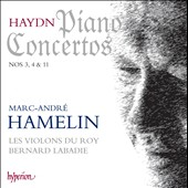 Haydn: Piano Concertos Nos. 3, 4 & 11 / Marc-Andr&eacute; hamelin, piano; Les Violons du Roy