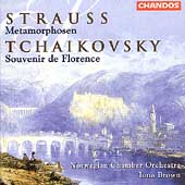 Strauss: Metamorphosen;  Tchaikovsky / Brown, Norwegian CO