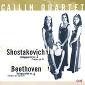 Shostakovich, Beethoven: String Quartets / Callin Quartet