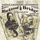 Blackwood, Bridge: Cello Sonatas / Scholes, Blackwood