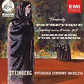 Tchaikovsky: Symphony no 6, etc / Steinberg, Pittsburgh SO