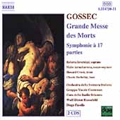Gossec: Grand Messe des Morts, Symphonie /Fasolis, Hauschild