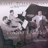 Rubinstein Collection Vol 25 - Ravel, Tchaikovsky: Trios