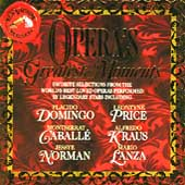 Opera's Greatest Moments - Domingo, Price, Caball&eacute;, et al