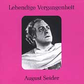 Lebendige Vergangenheit - August Seider
