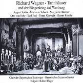 Wagner: Tannh&auml;user / Heger, Sieder, Schech, Paul, et al