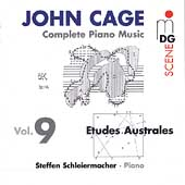 SCENE  Cage: Complete Piano Music Vol 9 / Schleiermacher
