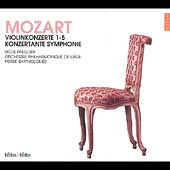 T&#234;te &#224; T&#234;te - Mozart: Complete Violin Concertos / Pasquier