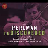 Itzhak Perlman Rediscovered - Violin Sonatas