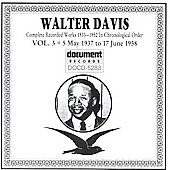 Walter Davis: Complete Works in Chronological Order, Vol. 3 (1937-38)