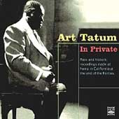 Art Tatum: In Private
