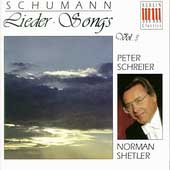 Schumann: Songs Vol 3 / Peter Schreier, Norman Shetler
