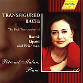 Transfigured Bach - Bach Transcriptions by Bart&oacute;k, et al