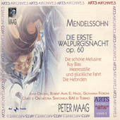 Mendelssohn: Die erste Walpurgisnacht / Peter Maag, et al