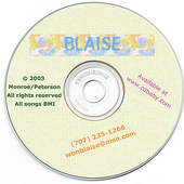 Blaise: Songs by Blaise