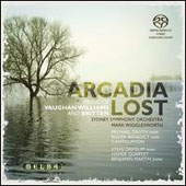 Arcadia Lost - works by Britten and Vaughn Williams / Michael Dauth, violin; Mark Wigglesworth