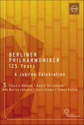125 Years of the Berlin Philharmonic / A Jubilee Celebration / Abbado, Barenboim, Jansons, Ozawa, Rattle [5 DVD]