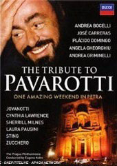 The Tribute To Pavarotti / Bocelli, Sting, Domingo, Gheorghiu, Carreras [2 DVD]
