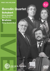 The Borodin Quartet Live / Schubert & Brahms [DVD]