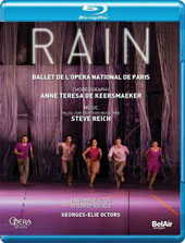 Rain, ballet. Music by Steve Reich - Music for 18 Musicians; Choreography by Anne Teresa De Keersmaeker / Ensemble Ictus, Synergy Vocals [Blu-ray]
