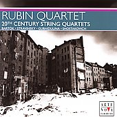 20th Century String Quartets / Rubin String Quartet