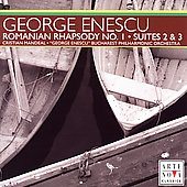 Enescu: Romanian Rhapsody no 1, Suites no 2 & 3 / Mandeal