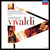 Vivaldi: Concertos / Hogwood, Academy of Ancient Music