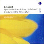 Schubert: Symphonies Nos. 5 & 8 'unfinished', Overtures In The Italian Style