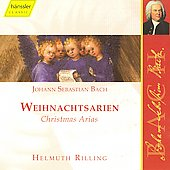 Edition Bachakademie - Christmas Arias / Auger, Rilling