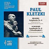 Brahms, Schubert: Symphonies / Paul Kletzki, et al