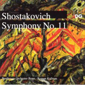 Shostakovich: Complete Symphonies Vol 9 - Symphony no 11 / Kofman, Beethoven Orchester Bonn
