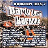 Karaoke: Party Tyme Karaoke: Country Hits, Vol. 7