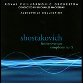 Shostakovich: Festive Overture; Symphony No. 5 / Mackerras