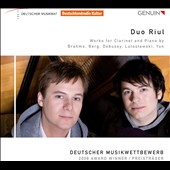 Works for Clarinet and Piano / Duo Riul