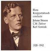 Hans Knappertsbusch conducts Johann Strauss, Ziehrer, Komzak