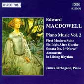 MacDowell: Piano Music Vol 2 / James Barbagallo