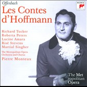 Offenbach: Les Contes d'Hoffmann (MET) / Tucker, Peters, Amara, Singher