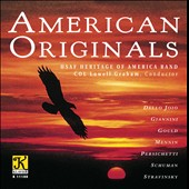 American Originals by Dello Joio, Gould, Mennin, Schuman et al.
