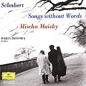 Schubert: Songs Without Words / Maisky, Hovora