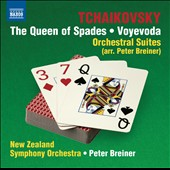 Tchaikovsky: The Queen Of Spades Suite; Voyevoda Suite (Arr. Peter Breiner) / New Zealand SO
