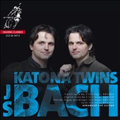 J.S. Bach: Arranged for Guitar - French Suite no 5; English Suite no 3; Suite, BWV 996 / Peter & Zóltan Katona, guitar