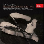 Ida Haendel: Complete Prague Recordings, 1957-1965 [5 CDs] / Haendel (violin), Holecek (pno), Czech Phil., Ancerl, Prague SO, Smetacek