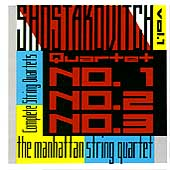 Shostakovich: String Quartets Vol 1 / Manhattan Quartet