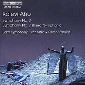 Aho: Symphonies no 2 & 7 / Vanska, Lahti Symphony Orchestra